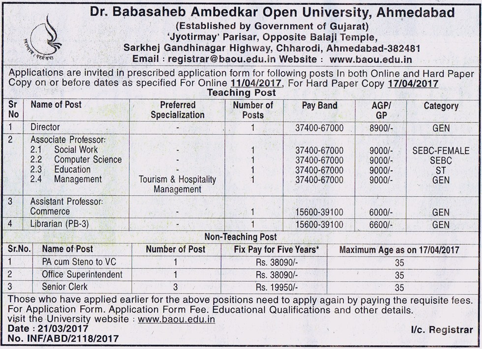 ambedkar open university baou essay It appears that the ncodec1 component has not been downloaded in your machine the component will now be downloaded to your system, which would take 2-4 minutes to.